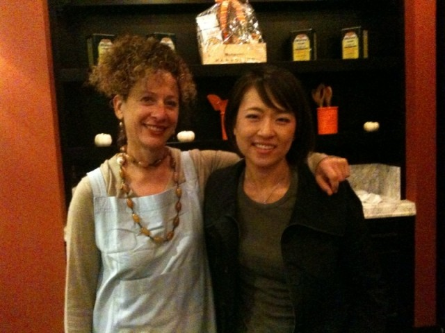 Kelly with Nancy Silverton